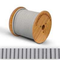 0527513 - Cablu textil gri 2x0.75mm2