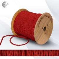 0527511T - Cablu textil rasucit rosu 2x0.75mm2