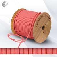 0527518 - Cablu textil roz 2x0.75mm2