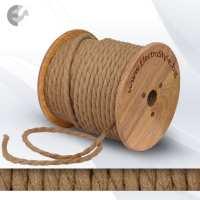 0527521T - Cablu textil din canepa rasucit 2x0.75mm2