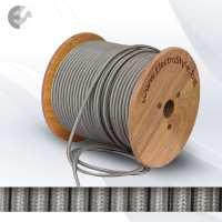 0527506 - Cablu textil argintiu 2x0.75mm2