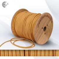 0527503 - Cablu textil auriu 2x0.75mm2