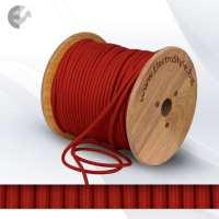 0527526 - Cablu textil rosu inchis 2x0.75mm2