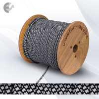 0527564 - Cablu textil alb-negru 2x0.75mm2