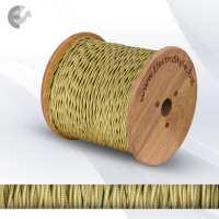 0527503TL - Cablu textil 2x0.75mm2 aur rasucit